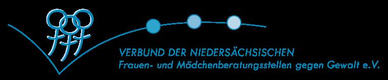 Logo Verbund der niedersächsischen Frauen- und Mädchenberatungsstellen gegen Gewalt